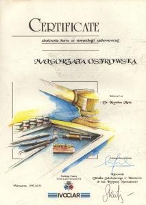 Stomatologia Dentica - Certyfikat dentystyczny